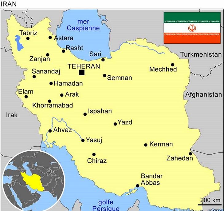 Carnet de voyage Iran